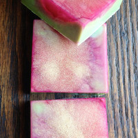 Flirtatious Fig with Honey Soap Bar (Organic) Sweet Fresh Figs, Lemon Zest