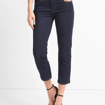 Mid rise slim crop jeans | Gap