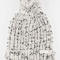 Neff Lulu Beanie Grey One Size For Women 26524311501