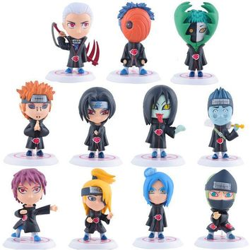 Naruto Shippuden Mini PVC Figurine Set 11 Pieces