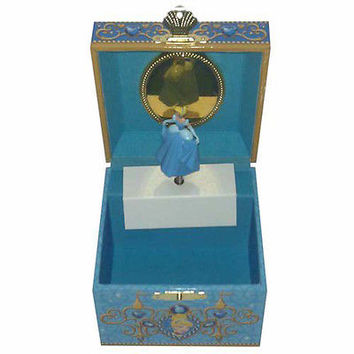 disney parks trinker box cinderella musical jewelry box signature new