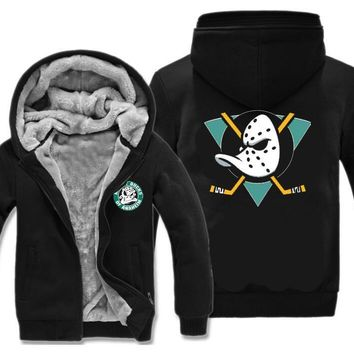 Mighty Ducks Hoodies - Retro NHL Inspired League USA Mens Fan Gift hoodie