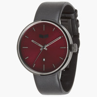 Vestal Roosevelt Watch Black/Burgundy One Size For Men 25505932001