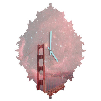 Bianca Green Stardust Covering San Francisco Baroque Clock