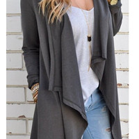 Stylish Women's Fashion Winter Knit Long Sleeve Jacket [9245523972]