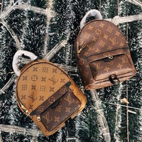 Louis Vuitton LV Monogram Palm Springs Backpack Mini