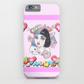 CryBaby -Melanie Martinez iPhone & iPod Case by Julio César