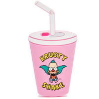2016 New Fashion 3D Cup model Cover Clown Krusty Shake Silicone Case for iPhone 6 6S Plus 5 5S  C1533