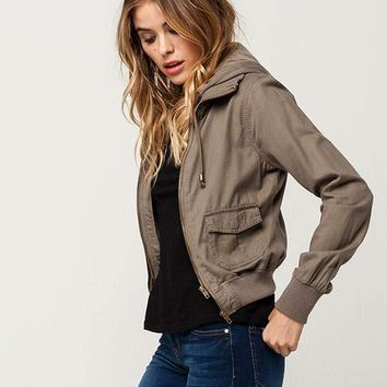 FULL TILT Twill Womens 2-Fer Jacket | Jackets