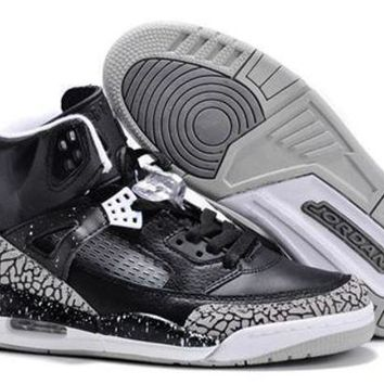 Cheap Air Jordan 3.5 Spizike Retro Men Shoes Black Gray