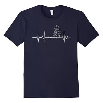 US Coast Guard Heartbeat Tshirt