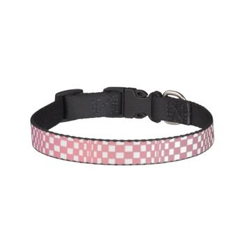 Abstract Squares 9 Pet Collar