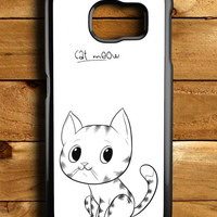 Cat Meow Samsung Galaxy S6 Case