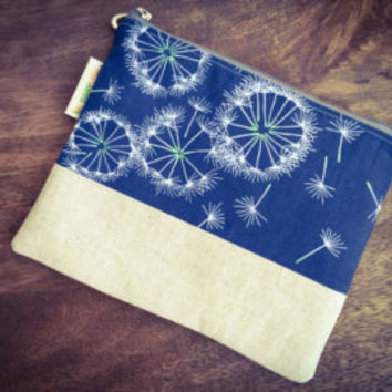 And Me Zippered Pouch || Floating Dandelions