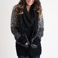 Knit A Chance Ombre Cardigan