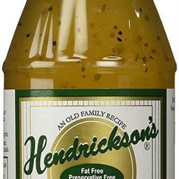 Hendrickson's: Sweet Vinegar & Olive Oil Dressing Marinade, 16 Oz