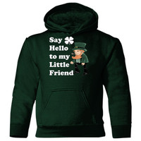 Say Hello To My Little Friend - Heavy Blend Children's Hooded Sweatshirt