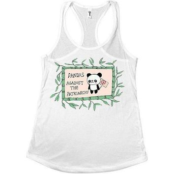 Pandas Against The Patriarchy -- Women's Tanktop