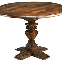 "Demir 48"" Dining Table, Pecan"
