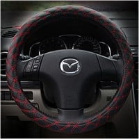 Car Acessory Hot Deal On Sale Leather Cars Steer Wheel Cover [4914638980]