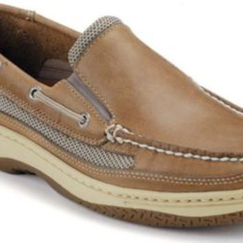 Sperry Top-Sider Billfish Slip-On Shoe TanBeige, Size 10W  Men's Shoes
