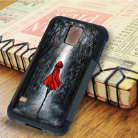 The Little Red Riding Hood The Little Red Painting Painting Art Riding Hood | For Samsung Galaxy S5 Cases | Free Shipping | AH0496