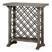 Annileise Wine Table, Weathered Natural, Bar Cabinets