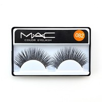 Sexy Thick Long MAC Cotton Stalk Natural Professional False Eyelashes [10968724492]