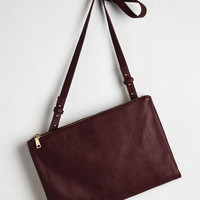 Minimal In the Bliss Business Bag in Berry by ModCloth