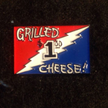 Grilled Cheese Grateful Dead Bolt Lot Pin