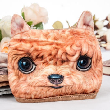 Korean Style New Fashion Casual Leisure Sport Bicycle Outdoor 3D Pet Dog Head Anti-Dust Face Mask