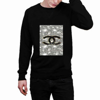 Coco Chanel Glitter Painting fa2bc075-7978-46ad-a6b9-6c88d6db1d80 - Sweater for Man and Woman, S / M / L / XL / 2XL *02*