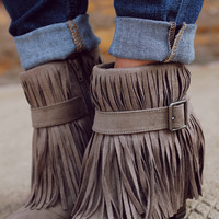 Bring On the Fringe Bootie