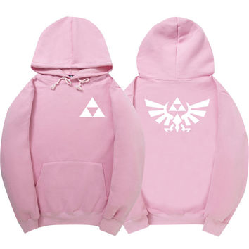 The Legend of Zelda Pink Hoodie