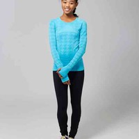 Fly Tech Long Sleeve Tee*Houndstooth | ivivva