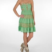 Flying Tomato Pieced Tube Top Dress