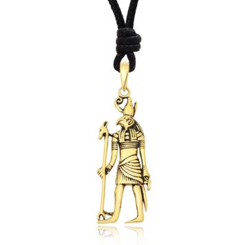 Egyptian Sterling-silver Pewter Brass Necklace Pendant Jewelry