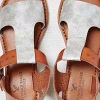 AEO Women's T-strap Mini Wedge Sandal