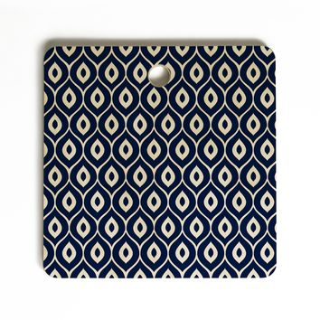 Aimee St Hill Leela Navy Cutting Board Square
