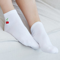 LA Hearts Cherry Ankle Socks at PacSun.com