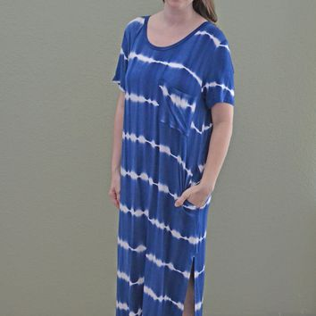 Know the Truth Tie Dye Dress