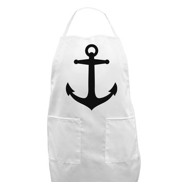 Nautical Sailor Anchor Adult Apron