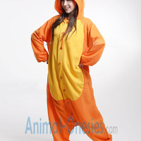 Carrot Animal Onesuit Kigurumi Costume Cotton Adult Pajamas