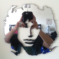 Jim Morrison of the Doors Mirror