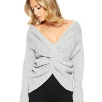 Naked Wardrobe Knot The One Sweater - Sweaters - Womens