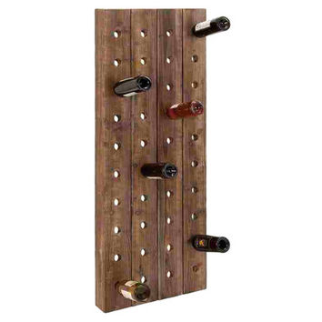 You should see this Boylston 40 Bottle Wall Wine Rack in Brown on Daily Sales!
