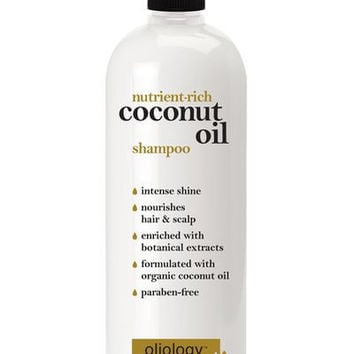 OLIOLOGY | Nutrient-Rich Coconut Oil Shampoo 946 ml - Beauty Barn