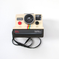 Vintage Polaroid Camera, Sears Polariod OneStep Land Camera