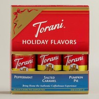 Torani Holiday Syrup Sampler, 3-Pack
