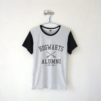 Hogwarts Alumni Unisex Tshirt / Harry Potter / Tumblr Inspired / Plus Size/ Toddler, Kid Size